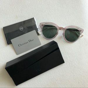 NWT Dior Enigme sunglasses in pink titanium color